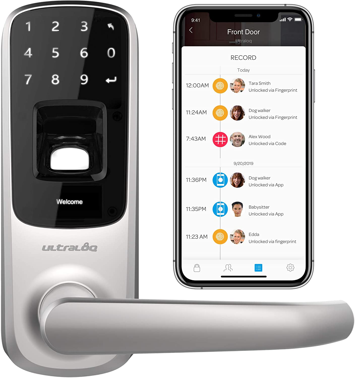 Smartphone Door Locks