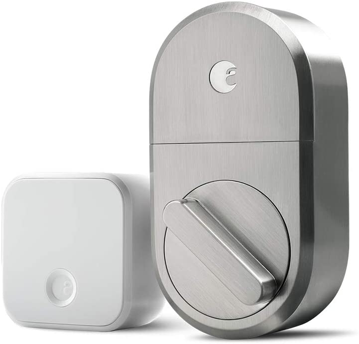August smart lock that works with Alexa