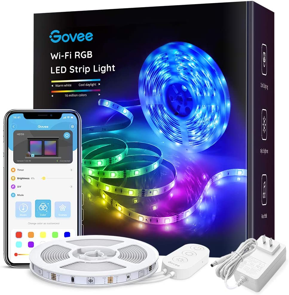 LED Lights Controlled by Phone