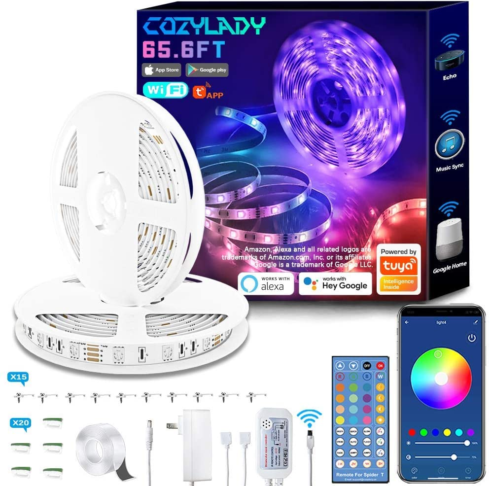 Wifi LED Strip lights with phone app