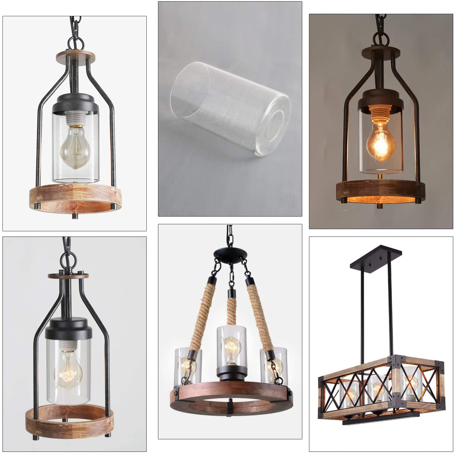 Replacement Glass Light Shades