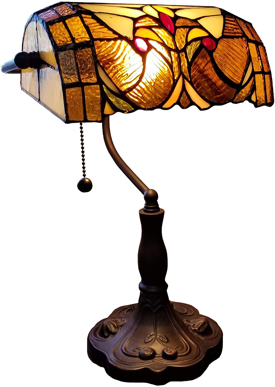 Tiffany antique table lamps for office and residential use