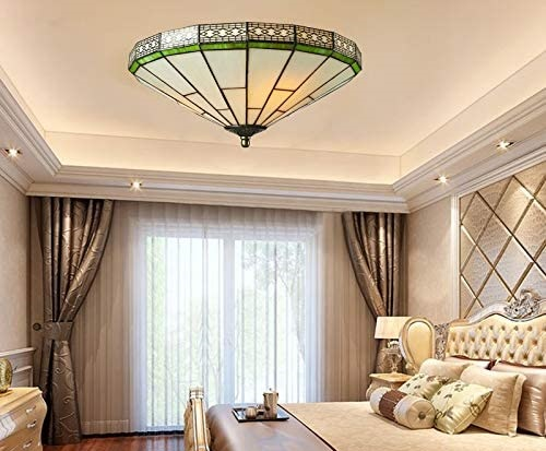 The 8 Best Tiffany Style Flush Mount Ceiling Lights