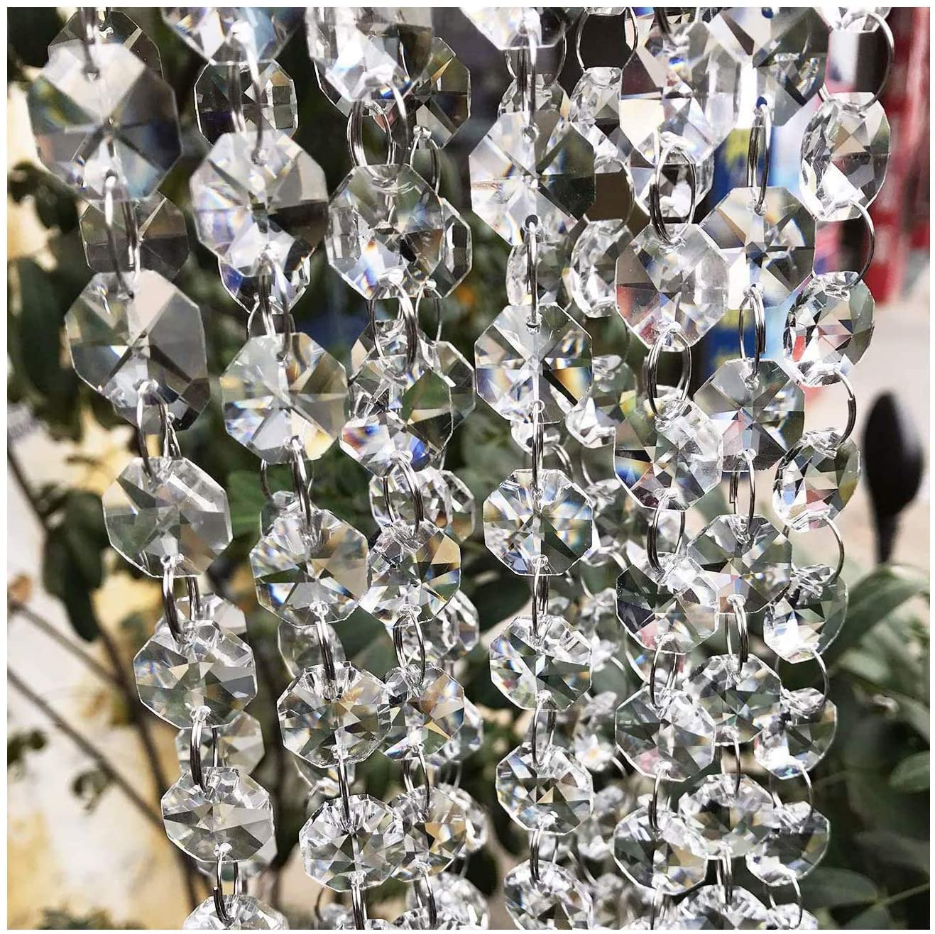 Beads to Restore crystals on chandeliers