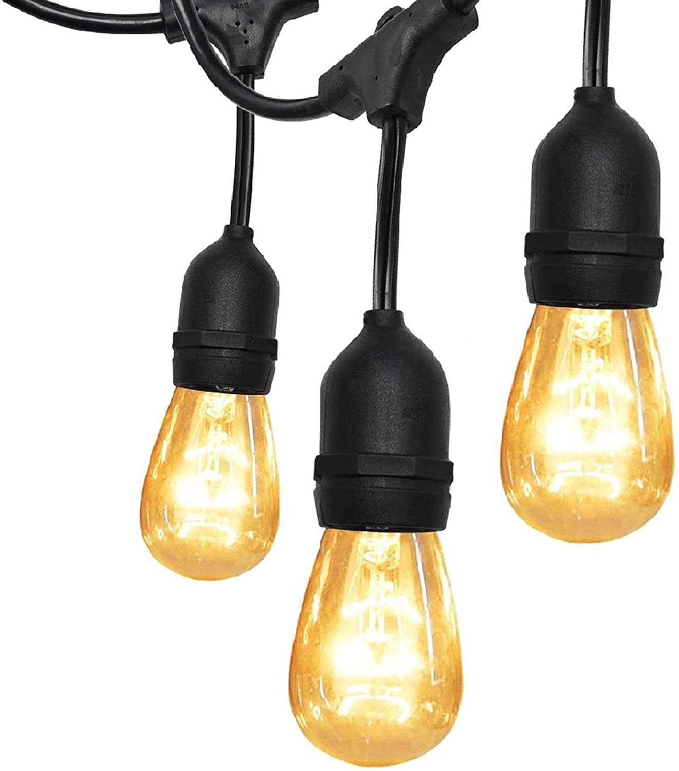 commercial outdoor string lights