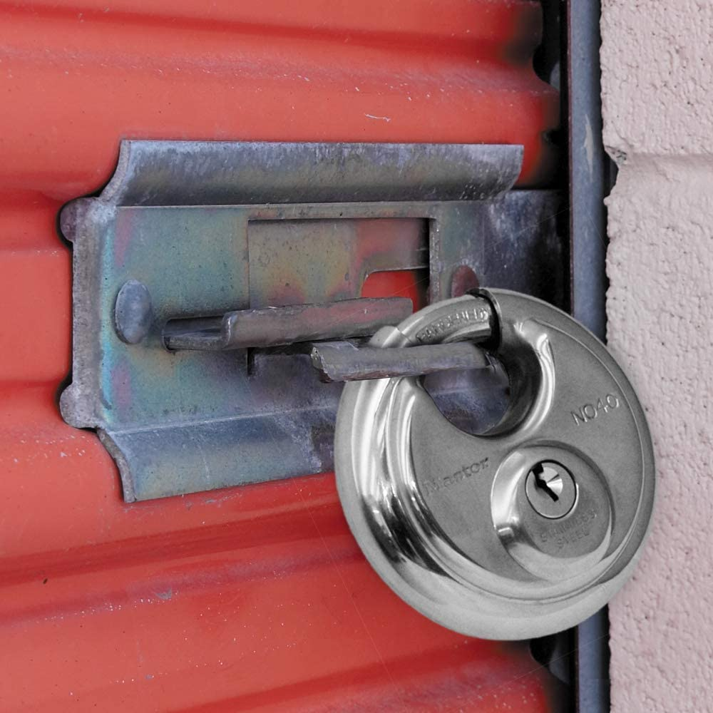Difference between disc lock and standard padlock