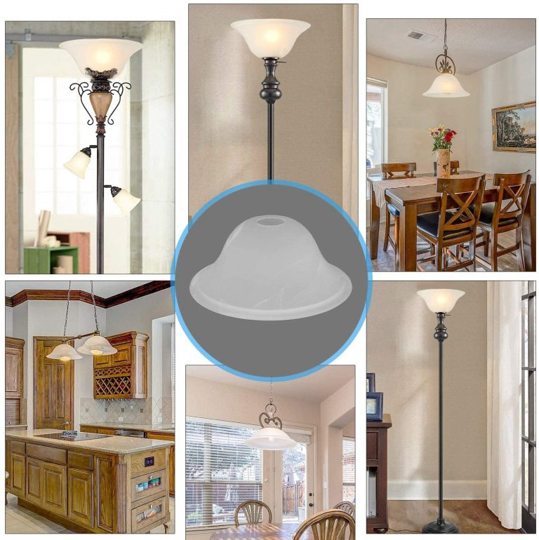 Modern Floor Lamp Replacement Glass Shades